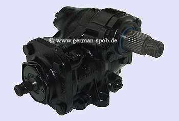 POWER STEERING GEAR BOX - SERVO S-CLASS W126 C126 | REPAIR SERVICE  Mercedes S-Klasse W126 SE SEL